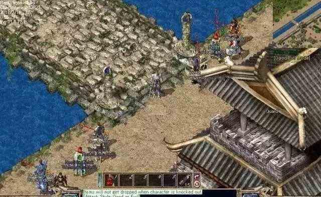 迷失传奇私服中战士在游戏中确实很强